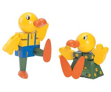 DUCK DOLL SET  趣味鴨玩偶組